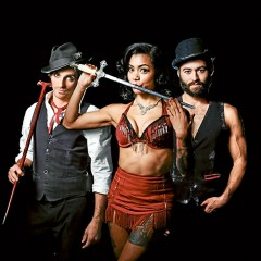 The Spiegeltent is Sorrento is back