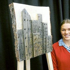 VCE kids trump Mornington Art Show