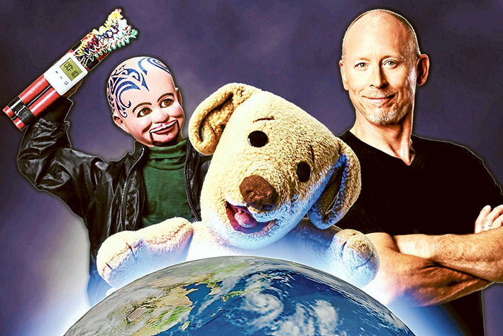 David Strassman's box-office image for iTed tour.