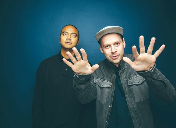 Hip hop duo hit heights