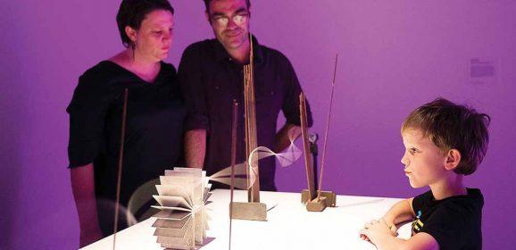 Light and sound artists and activism through craft